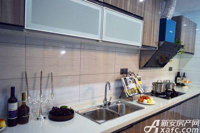 万成·哈佛玫瑰园玫瑰园洋房样板间:厨房