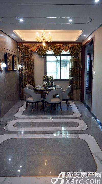 万成·哈佛玫瑰园玫瑰园洋房样板间:餐厅