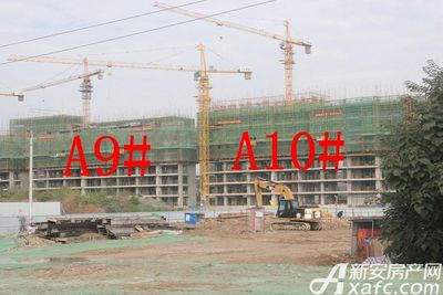 加侨侨城壹号加侨侨城壹号10月份项目进度 A区最高建至十层左右