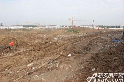 古井悦湖城古井悦湖城10月份项目进度 部分楼栋正在挖地基中