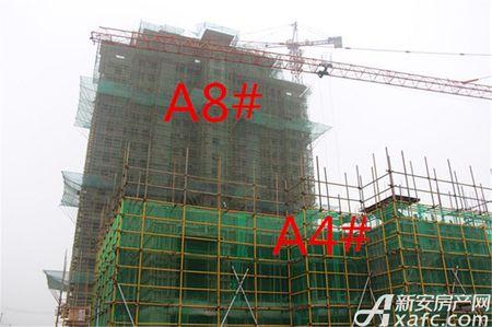 东方樾府工程进度