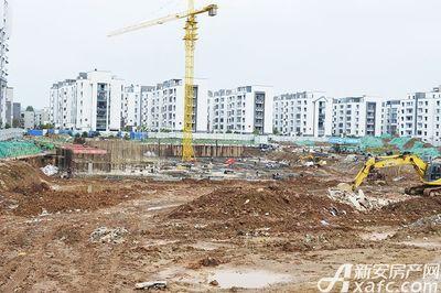 宇业依云红郡10月工程进度,28#30#基础部分施工(2017.10.18)
