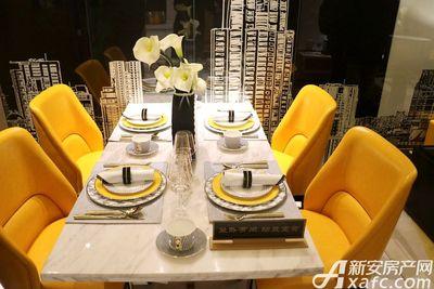 御璟江山85㎡户型样板间餐厅