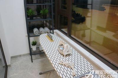 御璟江山85㎡户型样板间阳台