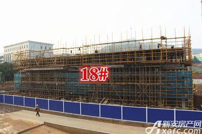 淮北碧桂园18#建到3层20171019