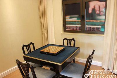 美的城129㎡户型棋牌室