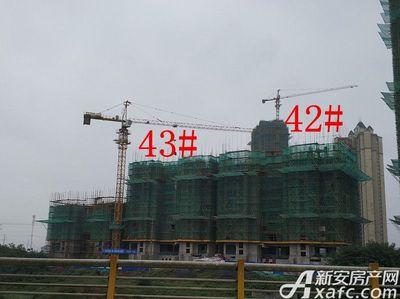 恒大绿洲42#、43#楼项目进度(2017.10.23)
