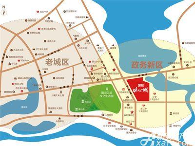 国投中心城(新天地红星美凯龙住宅)交通图