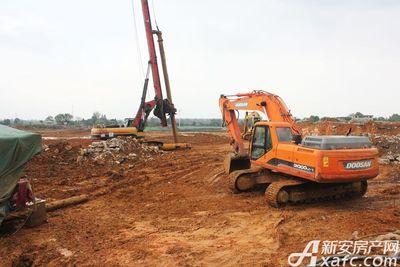 观湖花园工程进度(2017.10.24)