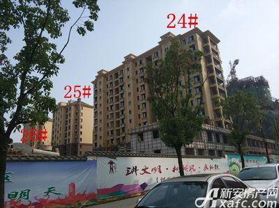 天景庄园24#—26#项目进度(2017.10.24)