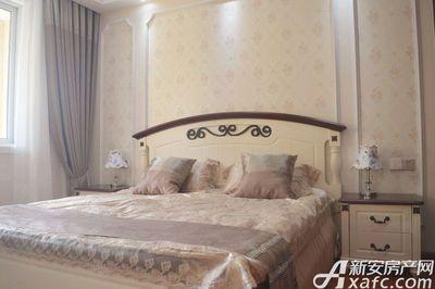 金色名城D6户型82㎡样板间卧室