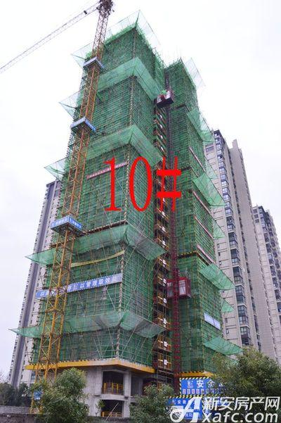 天都首郡10#10月进度,建至27层(2017.10.25)