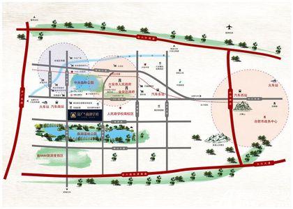 南湖学府交通图