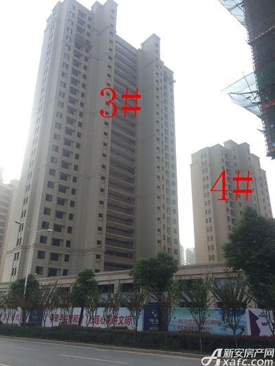 华源七星城3#、4#楼10月进度(2017.10.27)