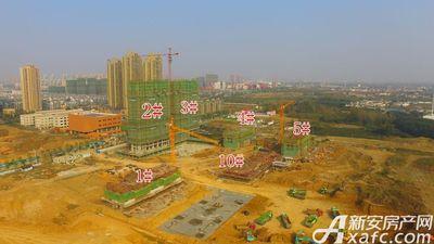 高速静安春晖里工地航拍图(2017.10.31)