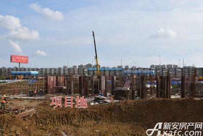 皖新翡翠庄园项目地其他部分工程进度(2017.10.31)