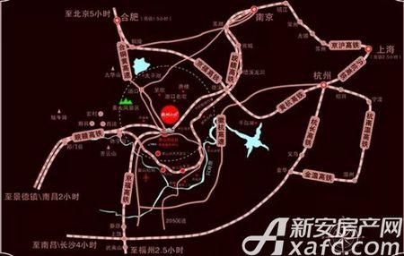 新国线·徽州小镇交通图