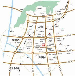 华邦公馆交通图
