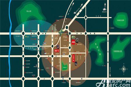 国金华府交通图