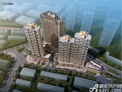 中航长江广场二期鸟瞰图