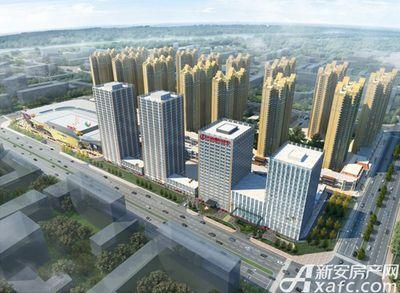 万达嘉华中心亳州万达俯视图