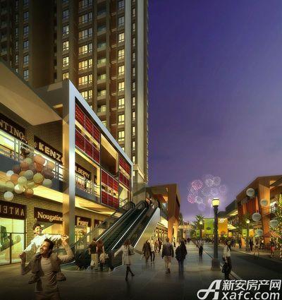 万达嘉华中心亳州万达商业效果图