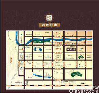 锦程公馆交通图