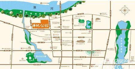 华地公馆交通图