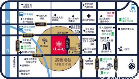玖珑府交通图
