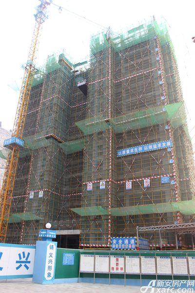 淮北凤凰城71#建到16层20171116