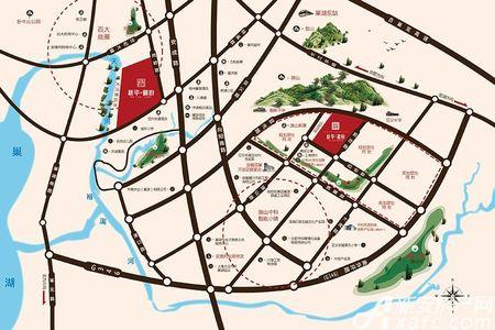 新华龙府交通图