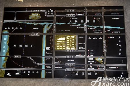 壹號府邸交通图