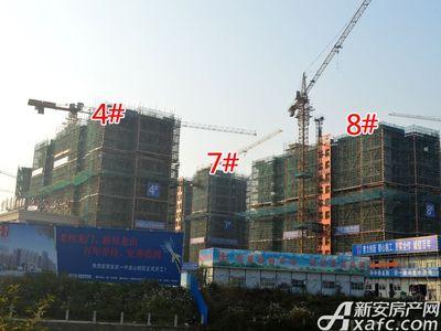 宜秀蓝湾4#、7#、8#工程进度(2017.11.15)