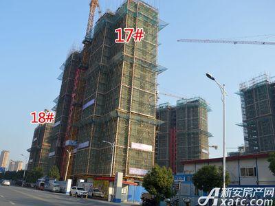 宜秀蓝湾17#、18#工程进度(2017.11.15)