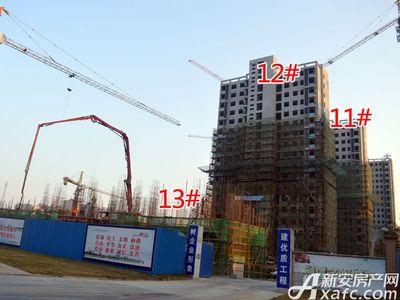 大地凤凰城11#、12#、13#工程进度(2017.11.15)