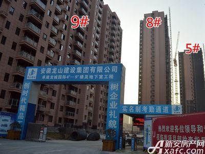 华翔龙城国际工程进度