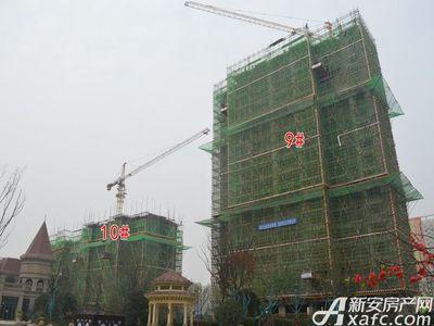 恒大珺睿府9#、10#号楼项目进度在建中(11.24)