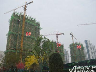 恒大珺睿府6#、7#、8#号楼项目进度在建中(11.24)