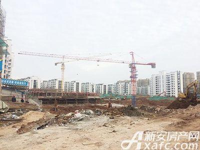 宇业依云红郡宇业依云红郡最新楼栋28#30#主体二层在建(2017.11.17)