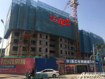 中航长江广场9#楼11月进度(2017.11.27)