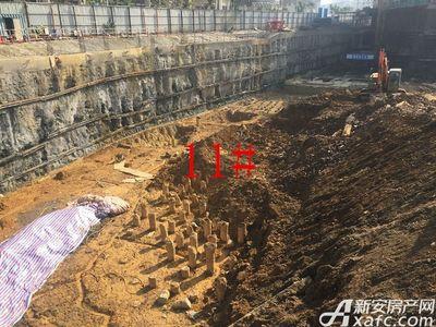 中航长江广场11#楼11月进度(2017.11.27)