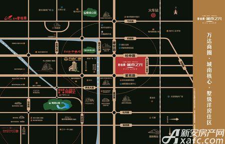 碧桂园城市之光交通图