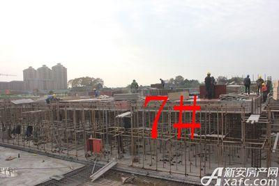 观湖花园7#工程进度(2017.11.24)