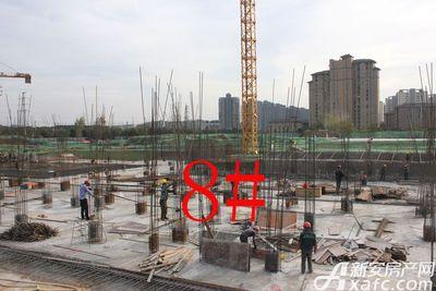 观湖花园8#工程进度(2017.11.24)
