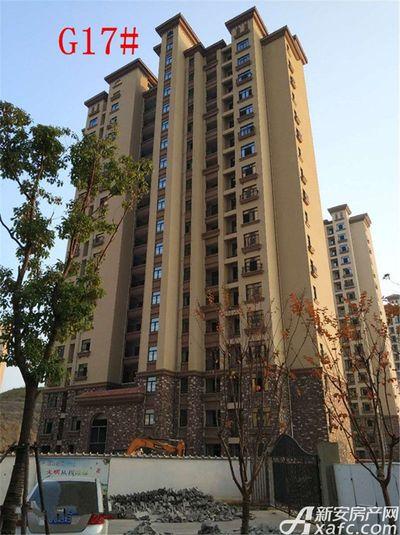 高速铜都天地G17#楼项目进度(2017.11.28)