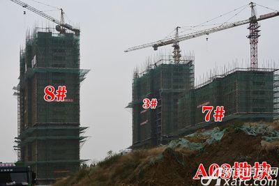 金隅南七里工程进度图(2017.11.30)