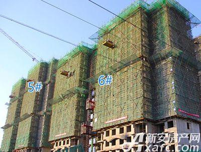 聚泽园·淮海学府5#6#工程进度(2017.11)