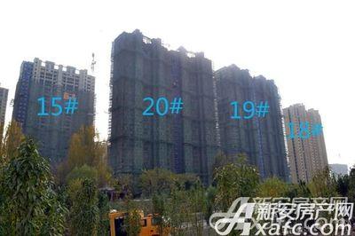 万成·哈佛玫瑰园一期高层进度(2017.11)
