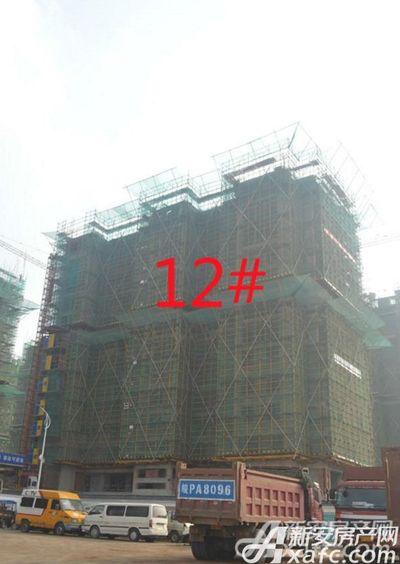 祥生宛陵湖新城12#工程进度2017年11月份