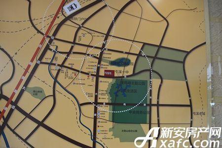 书香雅苑交通图